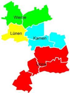 Ortsverbände im Kreis Unna